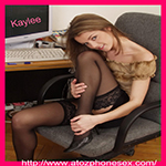 Kaylee in stockings and heels - buy my photo set